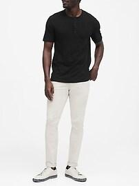 Vintage 100% Cotton Henley T-Shirt