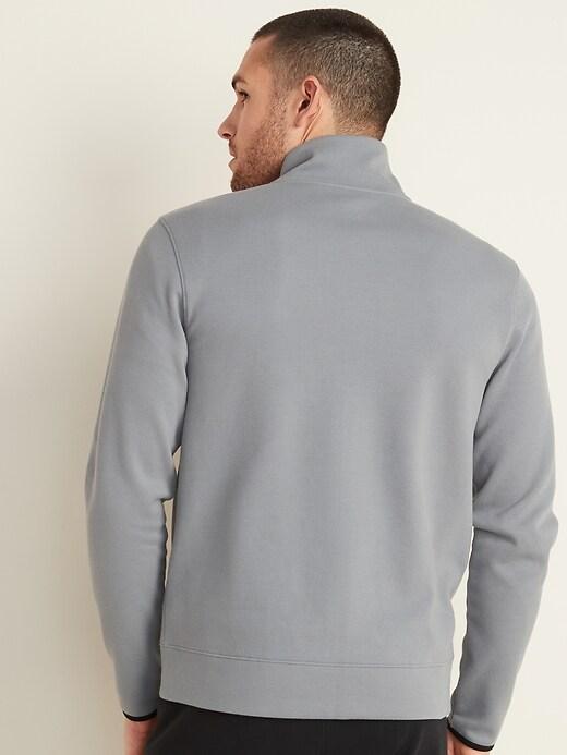 Dynamic Fleece Pique Zip Jacket for Men
