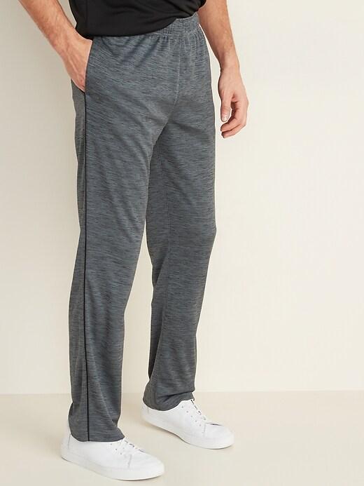 Straight Go-Dry Mesh Track Pants for Men