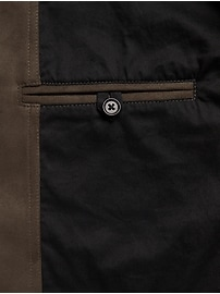 Vegan Suede Shirt Jacket