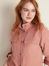 Soft Utility Jacket for Women