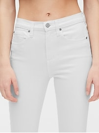 High Rise True Skinny Ankle Jeans