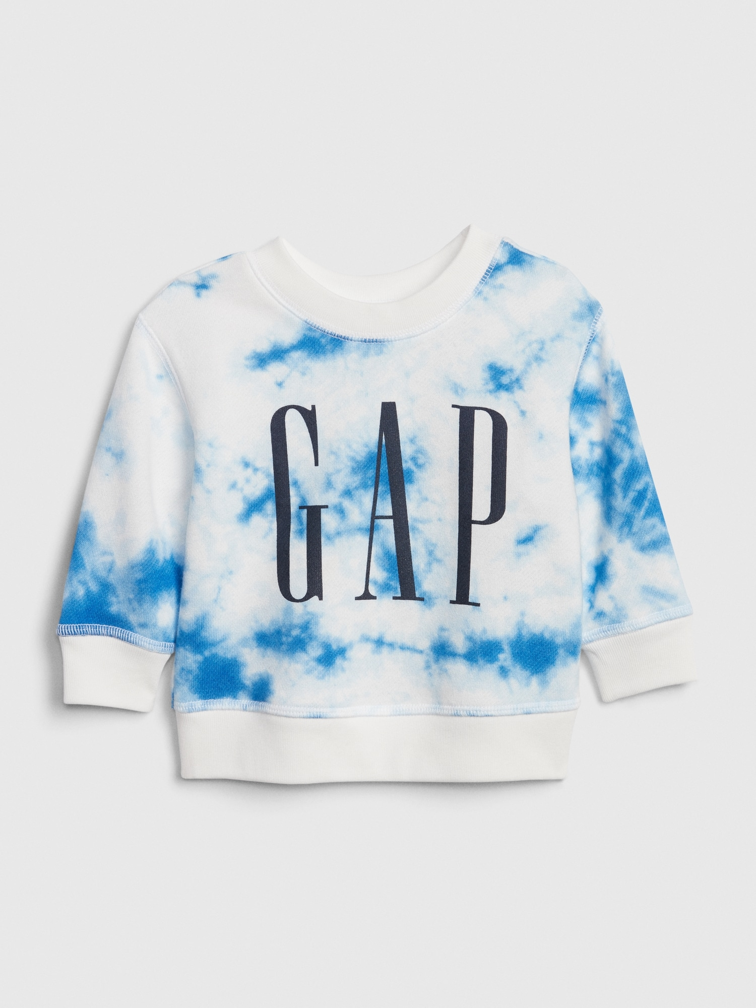 Gapロゴ タイダイスウェットシャツ (ベビー)