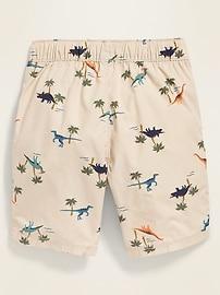 Functional-Drawstring Jogger Shorts for Toddler Boys