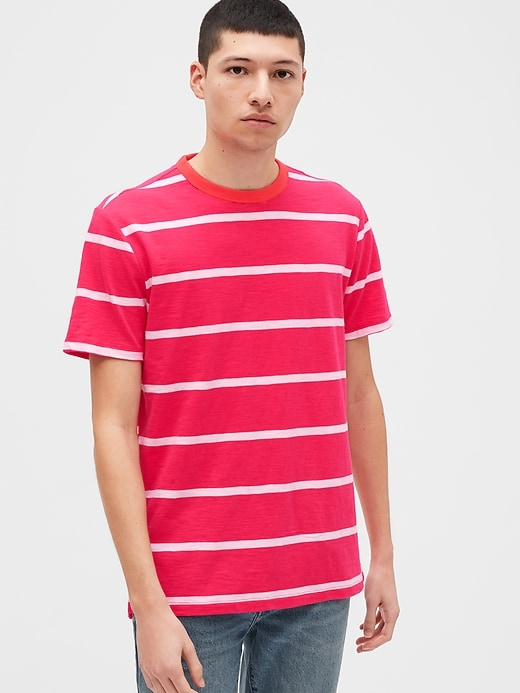 Slub Crewneck T-Shirt