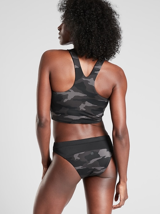 A&#45C Freestyle Camo Crop Bikini Top