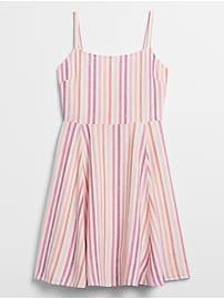 Stripe Dress in Linen
