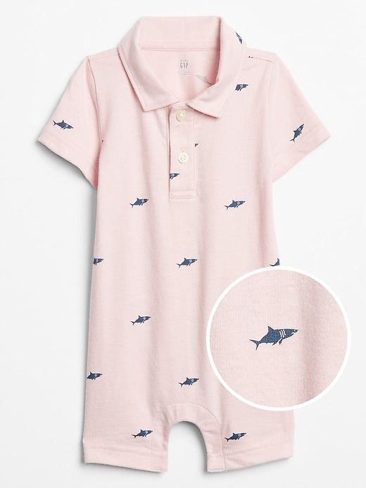 Baby Graphic Polo One-Piece