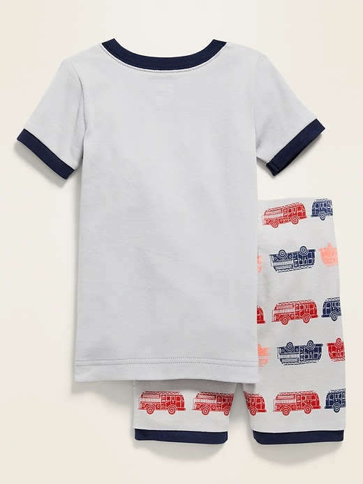 """""""Rescue Team"""" Graphic Pajama Set for Toddler Boys & Baby"""