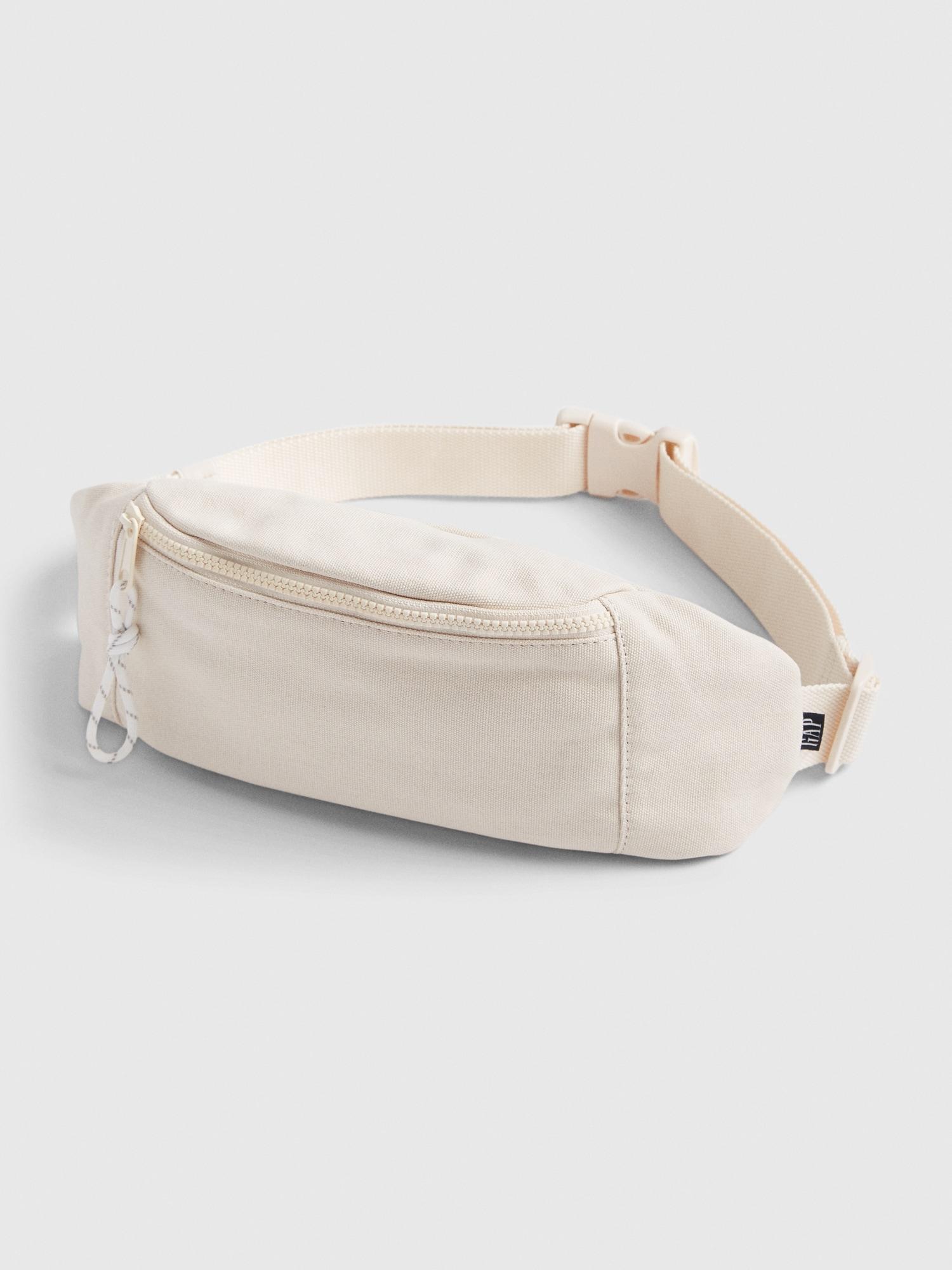 キャンバス地ベルトバッグ