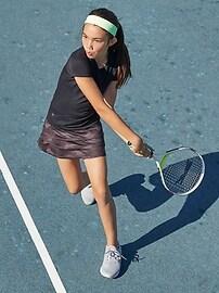 Athleta Girl Camo Lux Print Swing Skort