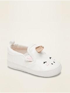 Oldnavy Unicorn Slip-Ons for Baby