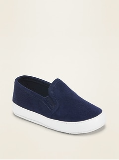 Oldnavy Unisex Faux-Suede Slip-Ons For Baby Hot Deal