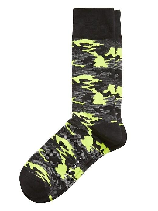 Chaussettes à imprimé camouflage Arti