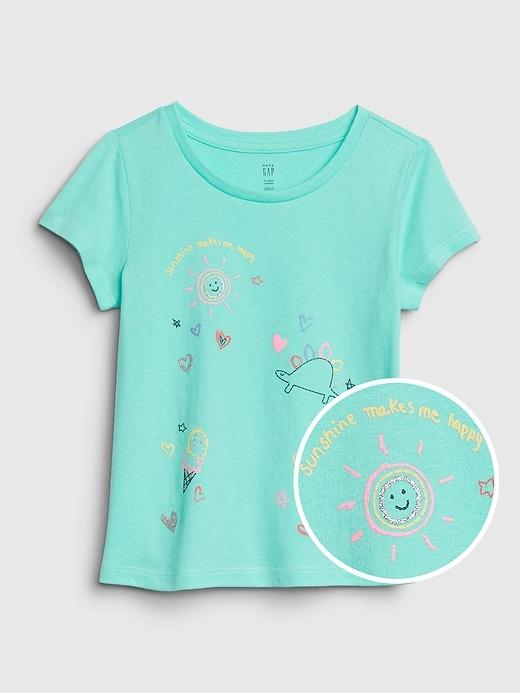 Toddler Short Sleeve Graphic T-Shirt
