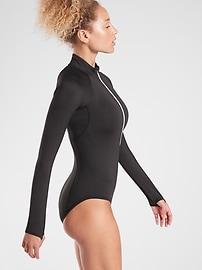 Endurance Half Zip Bodysuit