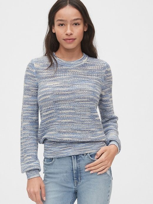 Slub Crewneck Sweater