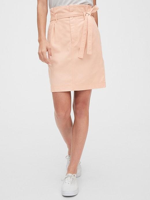Paperbag Mini Skirt in TENCEL&#153