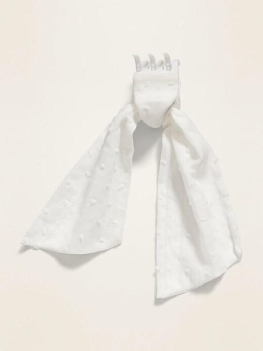 Textile Scarf Claw Hair Clip for Women