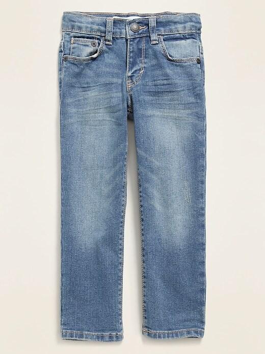 Straight Built-In Flex Jeans for Toddler Boys