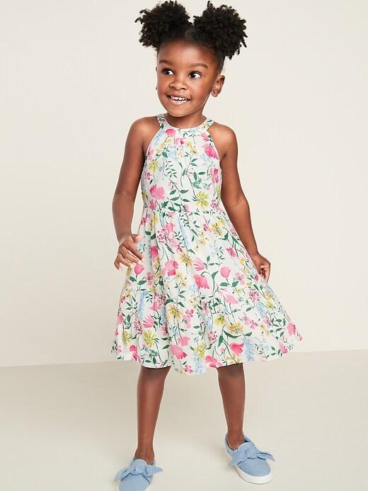 Tiered Halter Dress for Toddler Girls