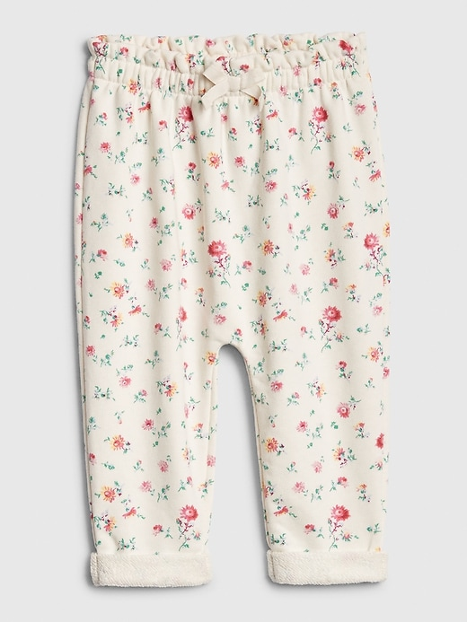 Baby Floral Pull-On Pants