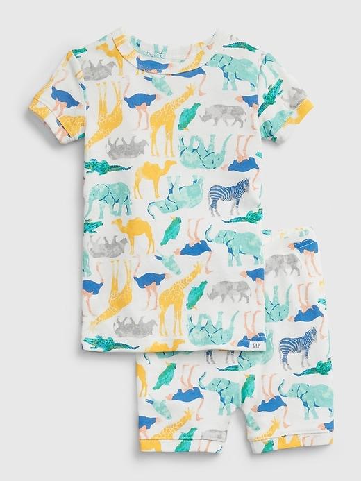Pyjama à motif animalier babyGap