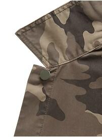 Petite Cropped Utility Jacket