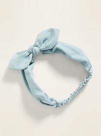 Bow-Tie Head Wrap For Women