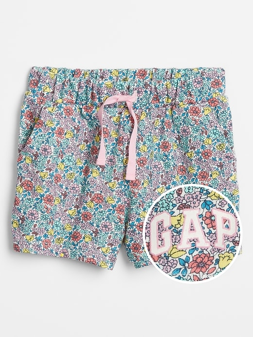 babyGap Logo Pull-On Shorts