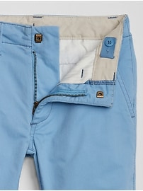 Kids Lived-In Khakis in Straight Fit