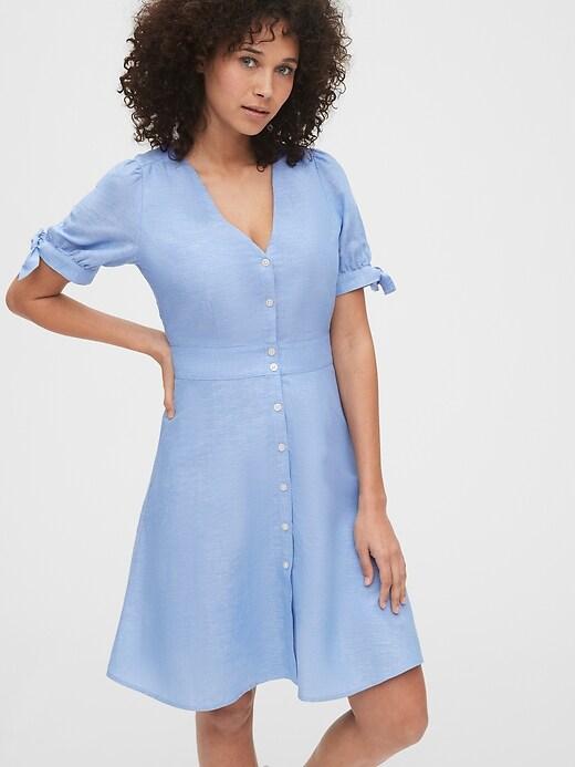 Tie-Sleeve Dress