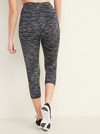 High-Waisted Elevate Side-Pocket Crop Leggings for Women
