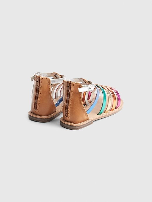 Toddler Rainbow Gladiator Sandal