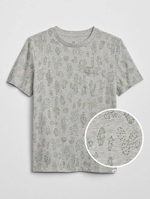 Kids Camo Short Sleeve T-Shirt