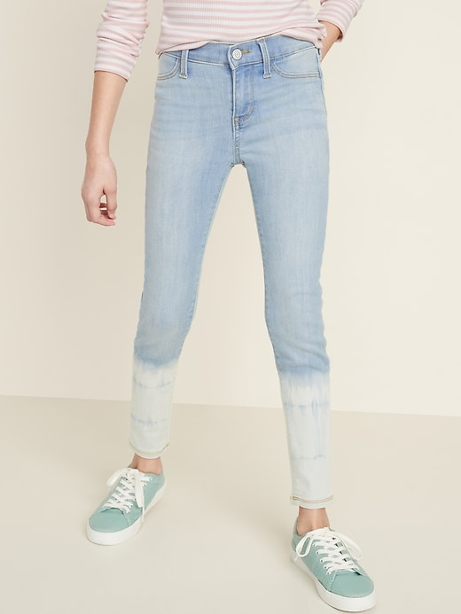 Ballerina Built-In Tough Dip-Dye Jeggings for Girls