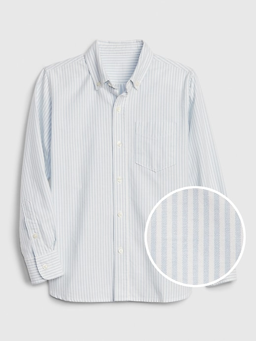 Kids Stripe Oxford Shirt
