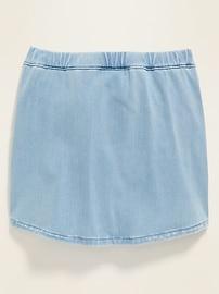 Pull-On Jean Skirt for Girls