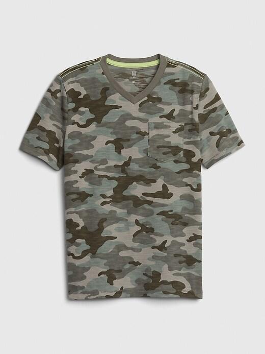 Kids Short Sleeve Pocket T-Shirt