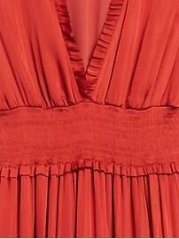 Petite Soft Satin Maxi Dress