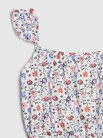 Kids Flutter Print Dress
