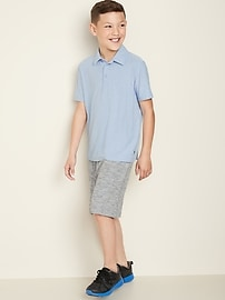 Uniform Short-Sleeve Performance Polo for Boys