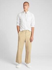 Wide Leg Khakis