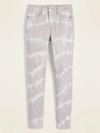 High-Waisted Rockstar Super Skinny Tie-Dye Jeans for Women