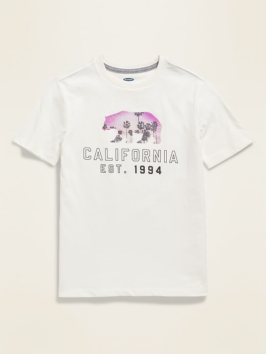 Logo-Graphic Tee for Boys