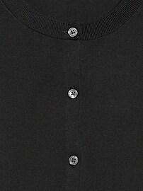 Stretch-Cotton Cardigan Sweater
