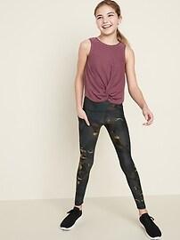 Mid-Rise Elevate Powersoft Side-Pocket Leggings for Girls