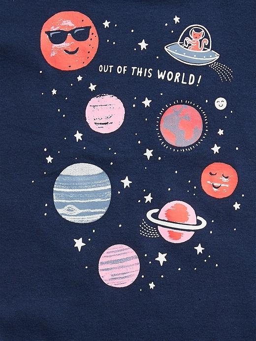 Pyjama à motif de l'espace babyGap