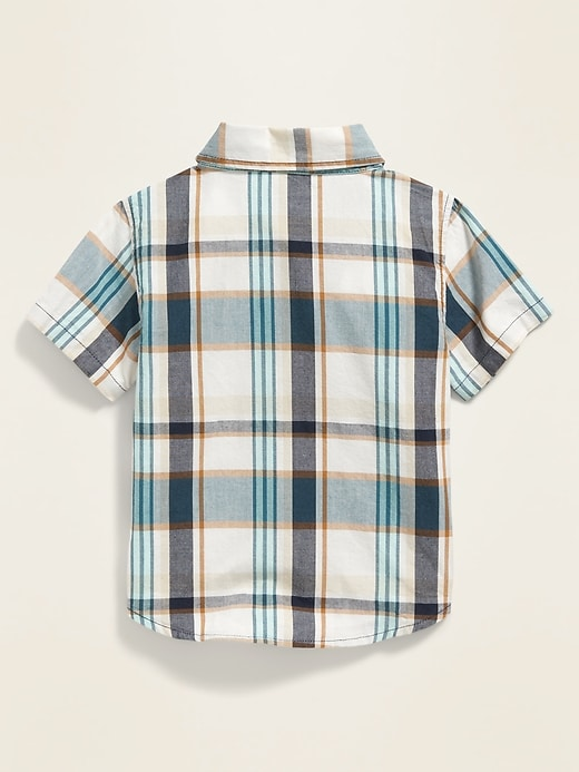 Printed Poplin Shirt for Baby