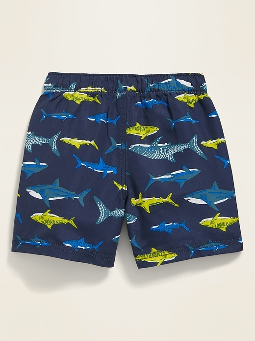 Printed Swim Trunks for Baby